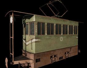 K10 electric locomotive 3D model