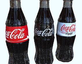 3D Coca Cola 250ml Bottle