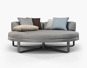 Gandia Blasco Flat circular bed 3d 3D model