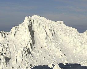 3D Cliffs mountain sharp prehistoric