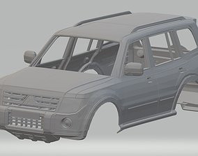 Mitsubishi Pajero Printable Body Car