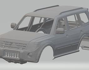Mitsubishi Pajero Printable Body Car