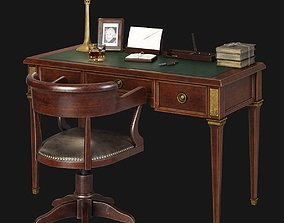 20th Century Writing desk 3D model