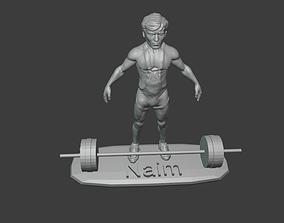 Naim Suleymanoglu 3D print model