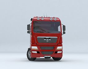 MAN TGX D38 TRUCK - VR - AR - low-poly - 3d realtime 1