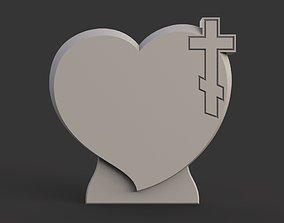 Memorial tombstone 3D printable model