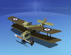 3D model RAF SE5A Fighter V07