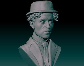 Charlie Chaplin Bust 3D printable model