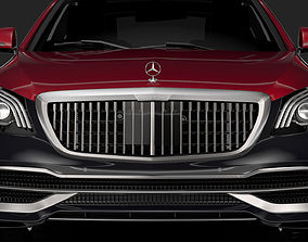 Mercedes Maybach S 560 4Matic X222 2019 3D