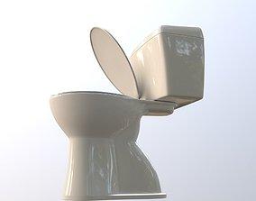 toilet bathroom houseware 3D model