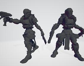 3D print model Cyberpunk Infiltrators
