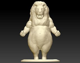 Big Belly Lion ma 3D printable model