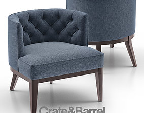 3D Grayson Tufted Chair