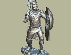 THOR INSPIRITED FIGURE FROM THOR RAGNAROK 3D print model 1