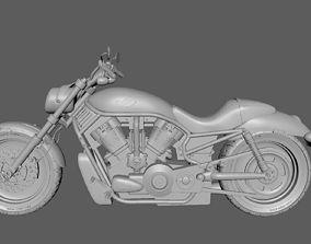 race harley davidson v rod 3D model