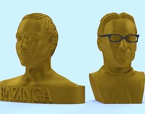 3D print model SHELDON COOPER ET LEONARD HOFSTADTER