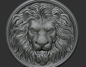 Lion head jewel 3D print model