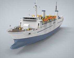 Passanger ship 3D model