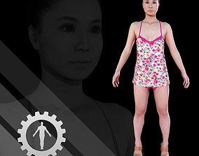 Female Scan - Izumi Apose 3D model
