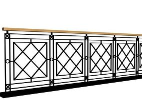 3D model Fence 05