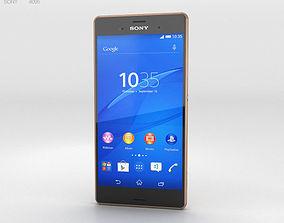 3D model Sony Xperia Z3 Copper