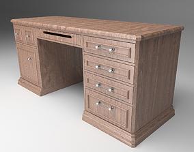 Office Desk interior 3D