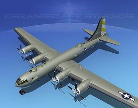 3D Boeing B-29 Superfortress V01