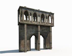 Castle Ruin 2 Low poly 3d Model realtime