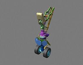 3D model Landing Gear Detailed
