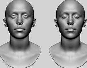 Female Head Printable v2