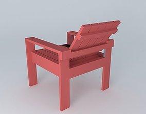 Lawn chair 3D