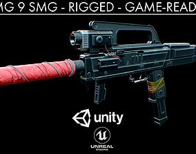3D model FMG 9 - Sub-Machine Gun
