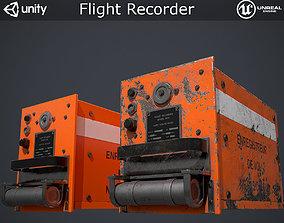 3D model VR / AR ready Flight Recorder