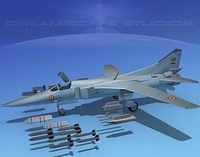 3D Mig-27 Flogger V14 India
