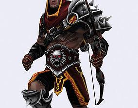 3DRT - Dark Archer animated