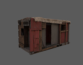 3D model VR / AR ready Container house