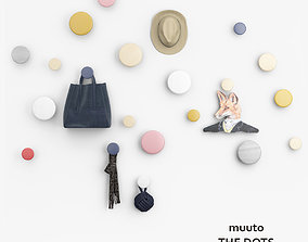 Muuto The Dots Hookers 3D