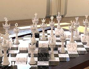 3D print model Kingdom Hearts Chess