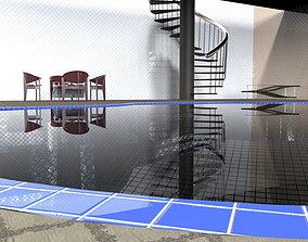 3D model Interior Test