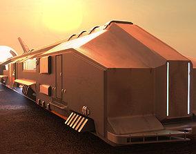 3D model Train Star citizen