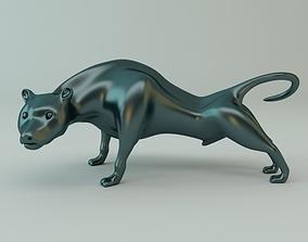 3D Puma Sculpture
