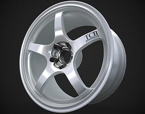 Yokohama Advan Racing TC2 3D asset