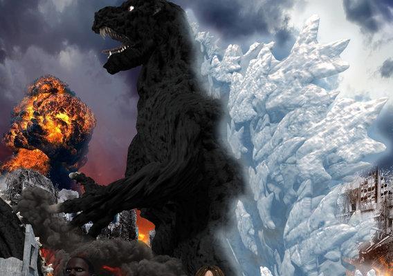 OFFICIAL Revenge Of Godzilla Poster