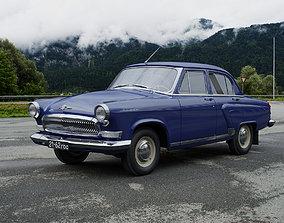 GAZ-21 Volga 1962 3D model