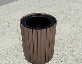 Garbage Can - Trash Bin 3D model