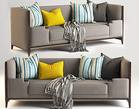 Hickory Lounge Sofa Furniture 3D