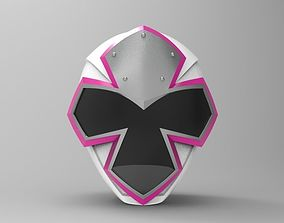 White Ranger Helmet from Ninja Steel for 3D