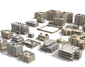 arabian city 27 Buildings 3D