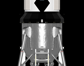 3D model Lockheed Martin Single-Stage Lunar Lander