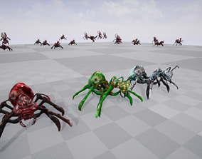 3D asset Insect 1 ue4 and unity